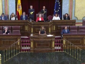 Patricia Reyes en el Congreso