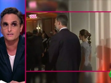 Josie comenta el peinado de la reina Letizia