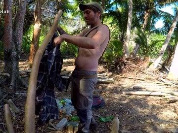 David Isaac en La Isla