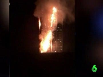 Incendio en la torre Grenfell