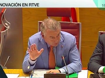 El presidente RTVE, José Antonio Sánchez
