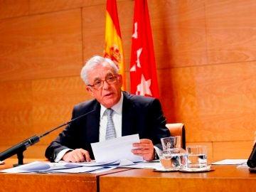 El consejero de Sanidad de Madrid, Jesús Sánchez Martos