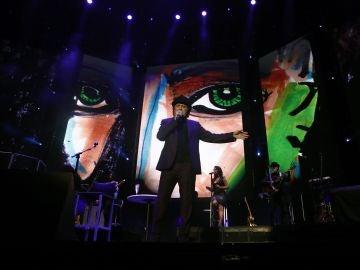 Joaquín Sabina, en su concierto en el WiZink Center