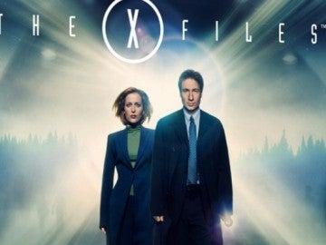 Los dos actores protagonistas de la serie Expediente X