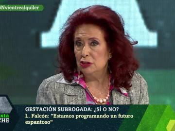 La escritora Lidia Falcón