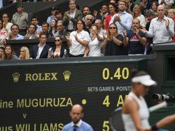 Garbiñe en Wimbledon
