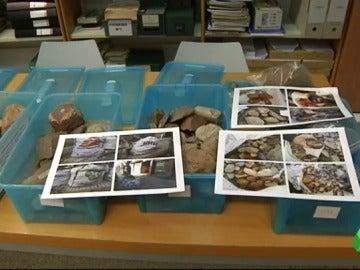 Los restos arqueológicos descubiertos por unos turistas en Vigo