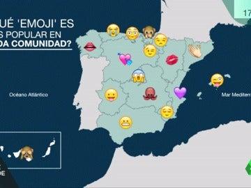 Estos son los emojis más utilizados en cada comunidad autónoma de España
