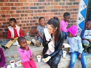 La imagen que publicó Miss Sudáfrica en sus redes sociales