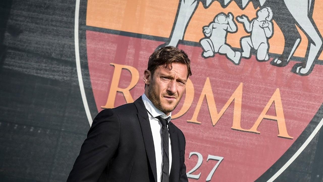 Francesco Totti, excapitán y leyenda de la Roma