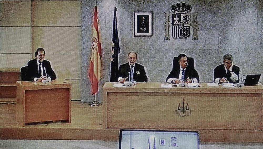 Mariano Rajoy en el juicio del caso Gürtel