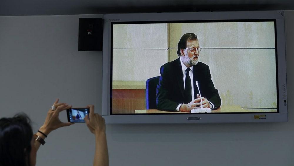 Rajoy en su declaración en el juicio del caso Gürtel