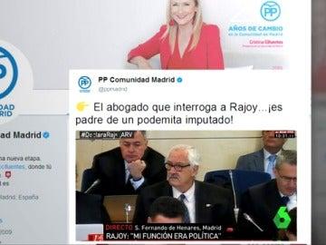 redes sociales declaración Rajoy