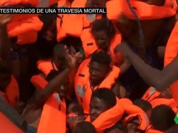 """""""Todas las madres de los niños han muerto"""", la última tragedia de los migrantes en el Mediterráneo"""