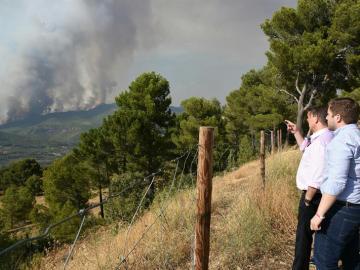 Incendio en Yeste
