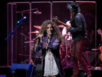 La cantante Rosario durante el concierto de la III edición del Universal Music Festival celebrado en el Teatro Real, en Madrid