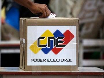 Colegio electoral en Venezuela