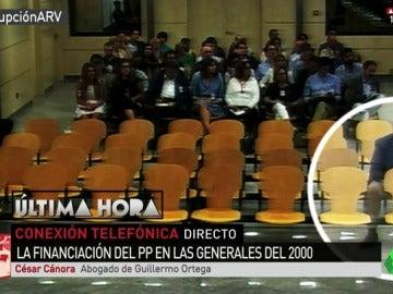 """Guillermo Ortega confirma a laSexta que los documentos que probarían la financiación ilegal de la campaña del PP del año 2000 son ciertos: """"Tienen su firma"""""""
