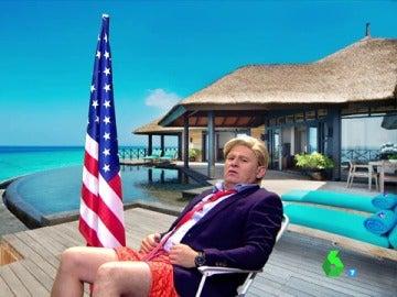 Paco Trump de vacaciones