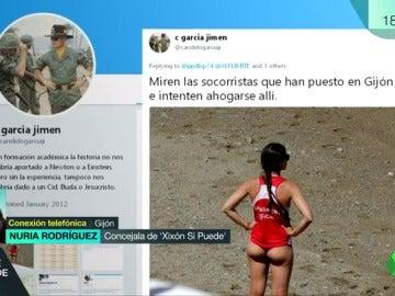 """Nuria Rodríguez, sobre la vestimenta de las socorristas y el machismo: """"No es tolerable responsabilizarlas de las miradas de otros"""""""