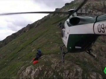 Rescatan a 12 montañeros en las últimas horas en el Pirineo Aragonés