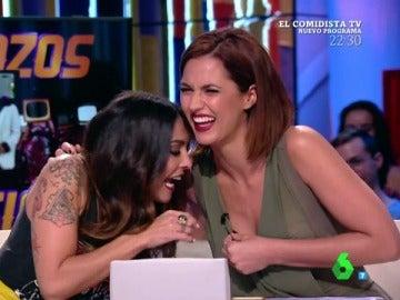Lorena Castell y Michelle Calvó en Zapeando
