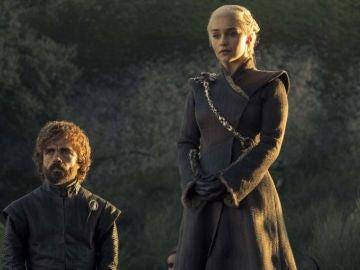 Tyrion y Daenerys en Juego de Tronos