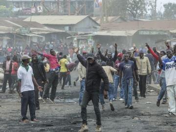 Protestas en Kenia tras las elecciones presidenciales