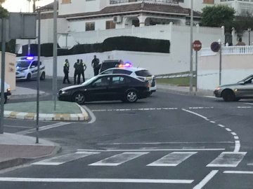 Dispositivo policial en Alicante