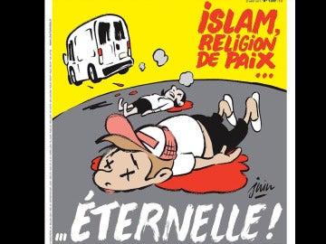 Portada de Charlie Hebdo por los atentados de Barcelona