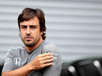 Fernando Alonso en Spa