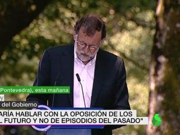 Mariano Rajoy en el arranque del curso político