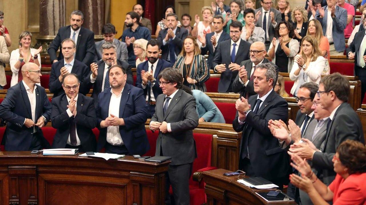 El Parlament catalán