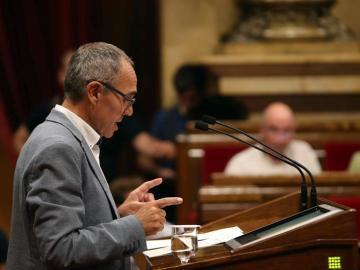 Joan Coscubiela, en el Parlament de Catalunya