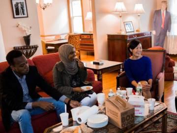 Oxfam aloja a dos refugiados de Somalia, uno de Siria y otra de Vietnam en la vivienda
