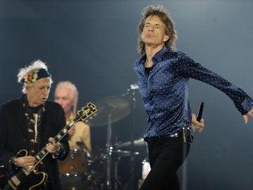 El cantante y líder de la banda de rock The Rollings Stones, Mick Jagger