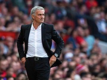 Mourinho durante un partido