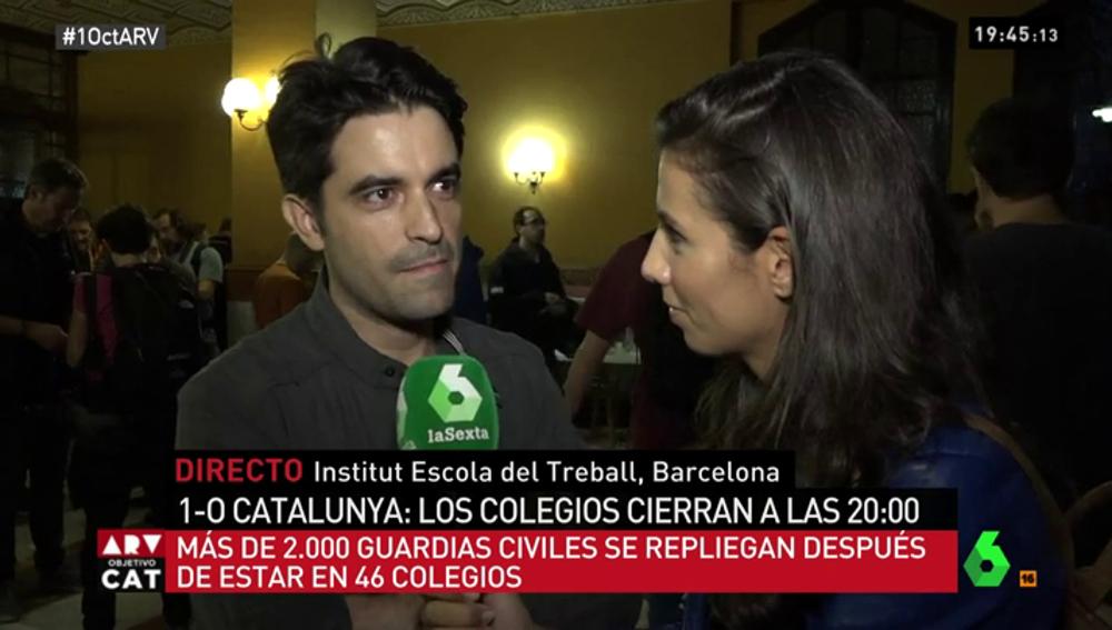Fran, un andaluz residente en Cataluña