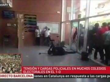 Así fueron agredidos los agentes de Policía y Guardia Civil