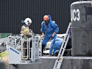La policía investiga el submarino de fabricación casera de Madsen