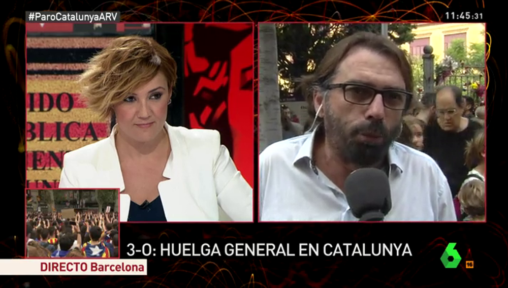 Camil Ros, secretario general de UGT Cataluña