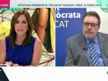 El senador del PDeCat, Josep Lluís Cleries