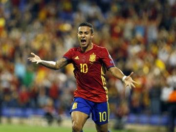 Thiago, con la Selección