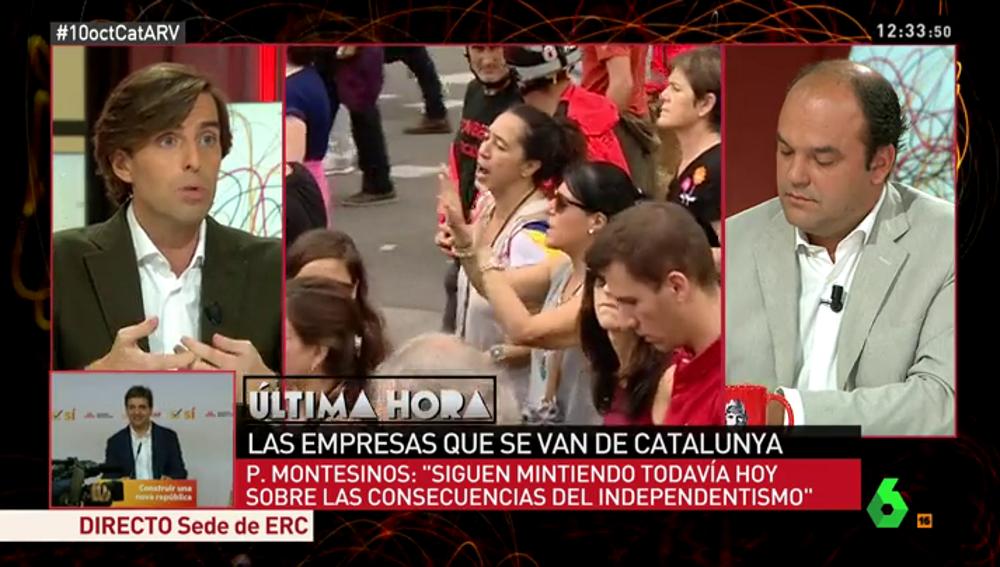 Pablo Montesinos, en Al Rojo Vivo