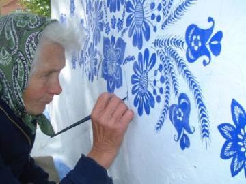 La artista checa Agnes Kasparkova