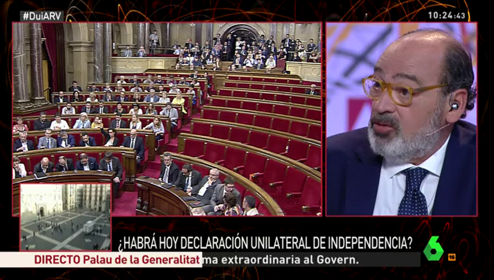 Jordi Casas, analista y exdiputado de UDC
