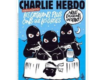 La portada sobre Cataluña de Charlie Hebdo