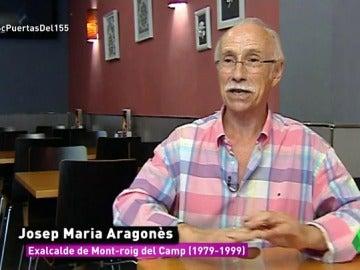 """Josep María Aragonès, exalcalde de Mont Roig por la UCD de Suárez: """"Juré bandera y ahora he votado sí a la independencia"""""""