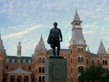 Campus de la Universidad de de Baylor, Texas