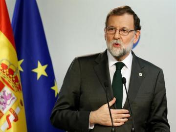 Mariano Rajoy, en Bruselas